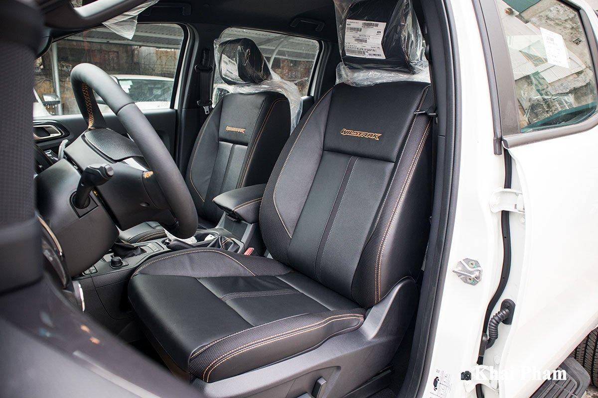 Ảnh Ghế lái xe Ford Ranger 2020