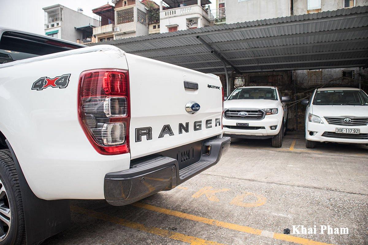 Ảnh Cản sau xe Ford Ranger 2020