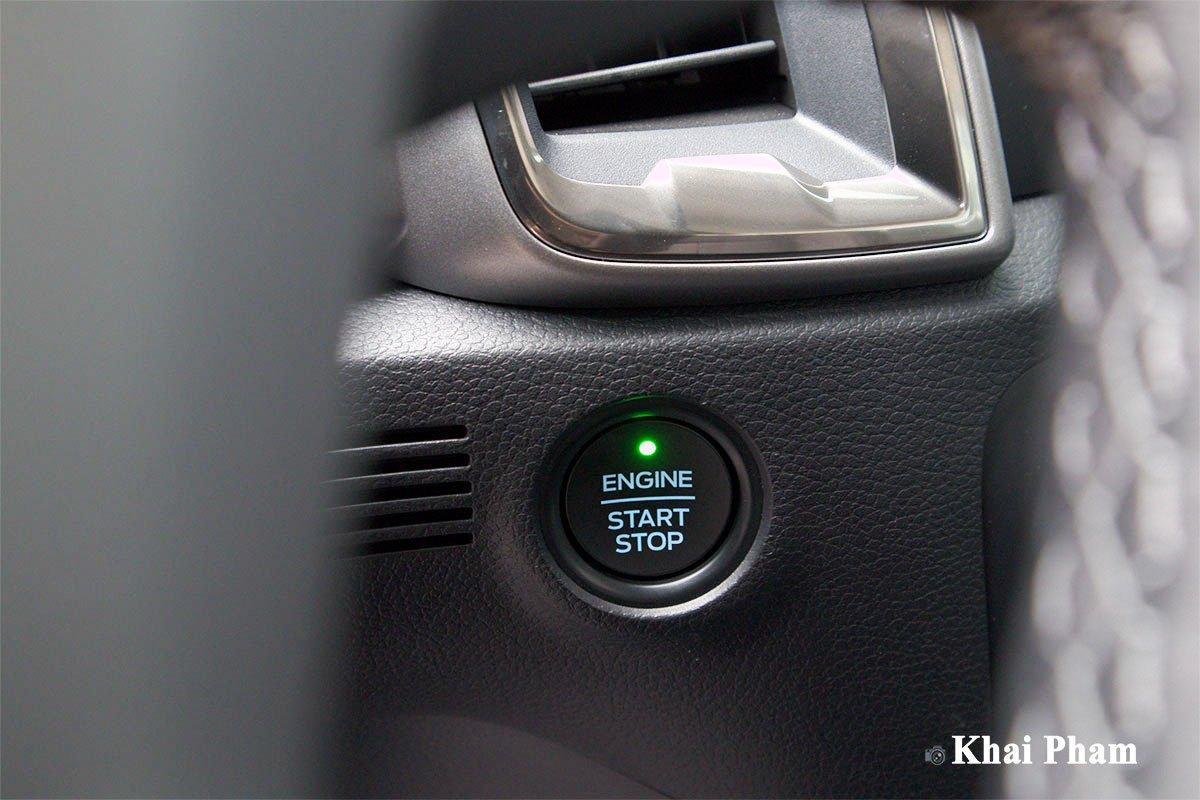 Ảnh Nút bấm khởi động xe Ford Ranger 2020