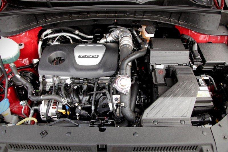 Động cơ xe Hyundai Tucson 2019