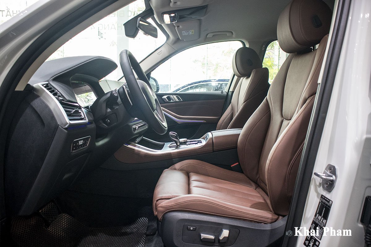 Ảnh ghế lái xe BMW X5 xDrive 40i xLine 2020