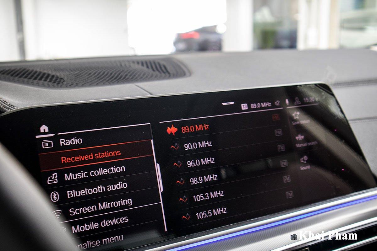 Ảnh màn hình xe BMW X5 xDrive 40i xLine Plus 2020