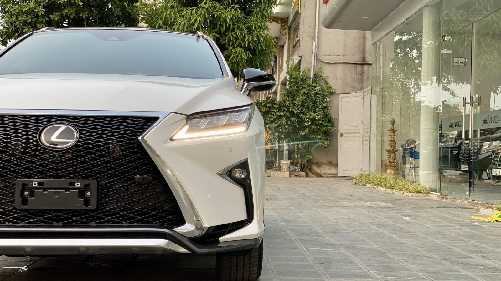 Bán xe Lexus RX 350 Fsport nhập Mỹ sản xuất 2018 đã qua sử dụng LH Ms Hương, giao xe toàn quốc, giá tốt (3)