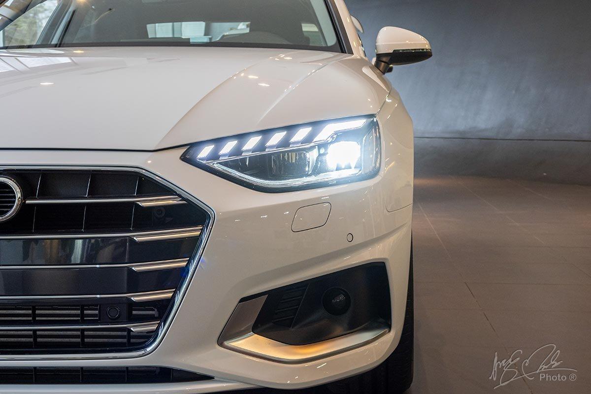 Đánh giá xe Audi A4 2020: thiết kế đầu xe.