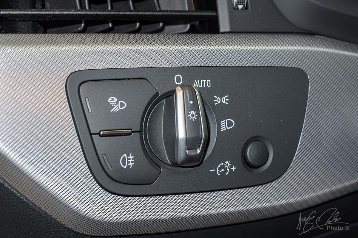 Đánh giá xe Audi A4 2020: Hệ thống chiếu sáng.