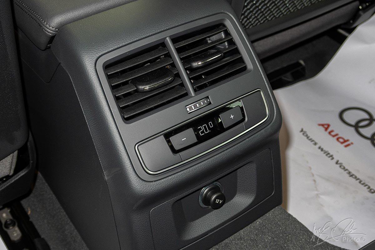Đánh giá xe Audi A4 2020: Điều hoà tự động 3 vùng độc lập 1.