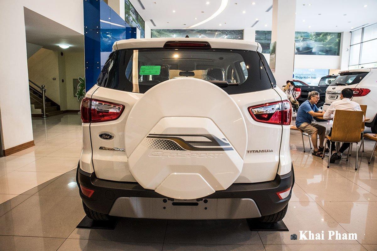 Ảnh chính diện Đuôi xe Ford EcoSport 2020