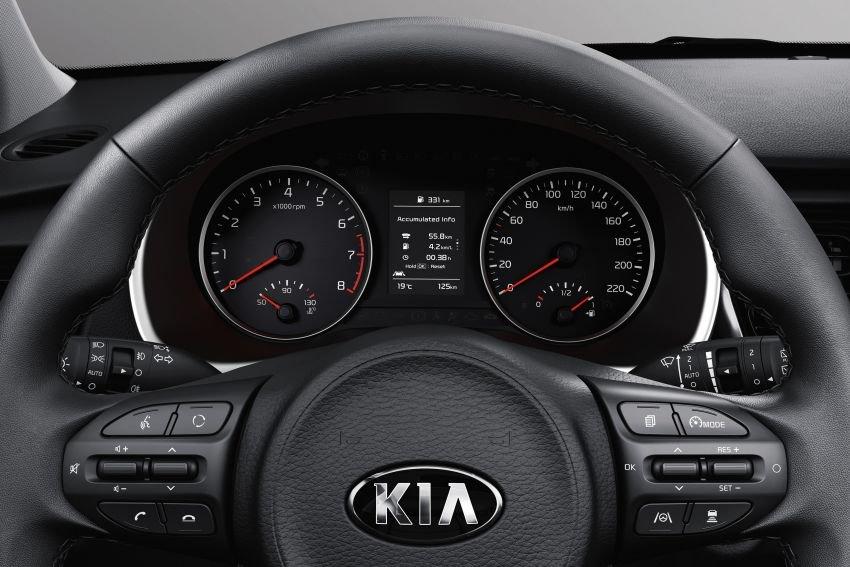 Cụm đồng hồ 4,2 inch trên Kia Rio 2021 nâng cấp mới..