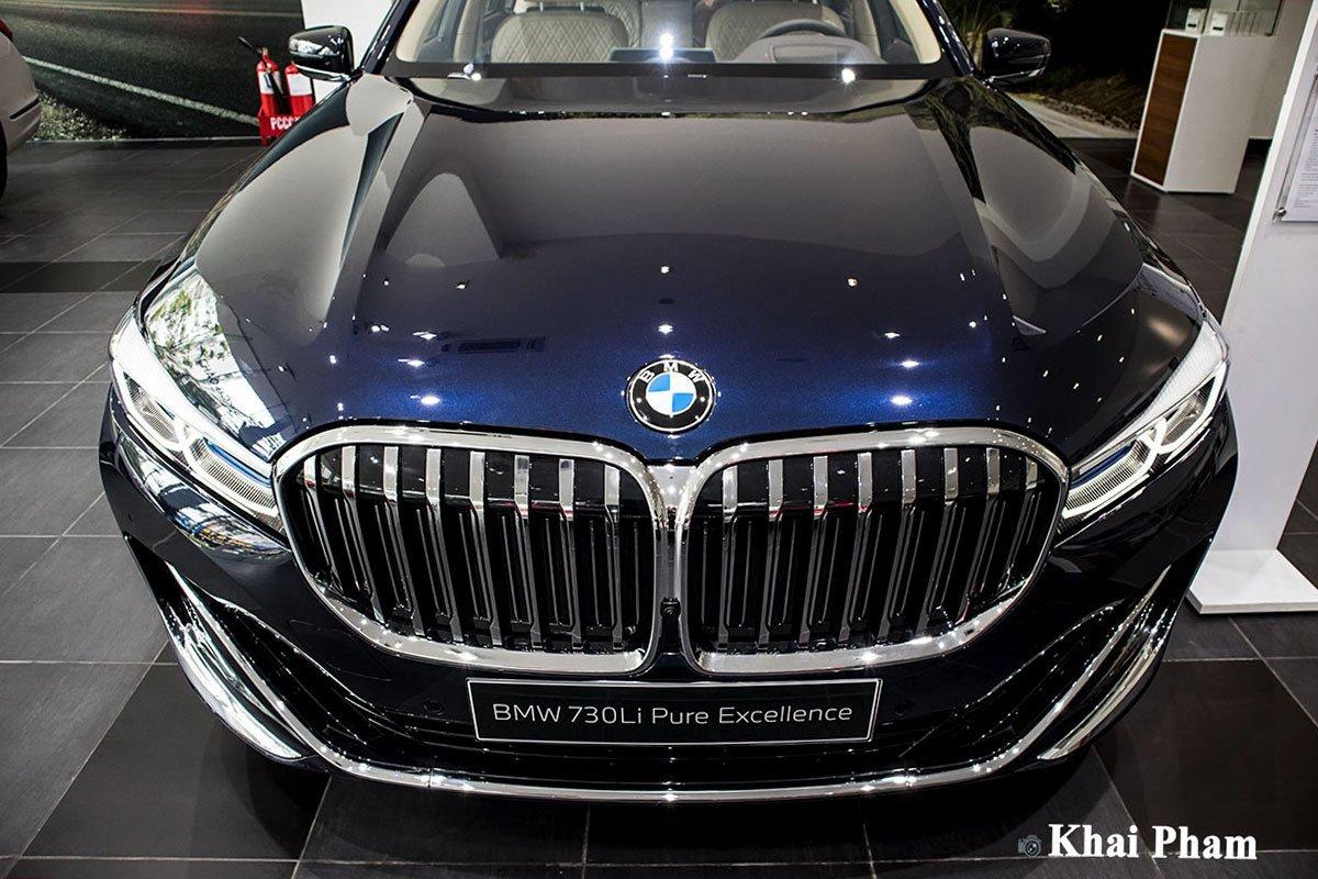 Ảnh đầu xe BMW 7-Series 2020