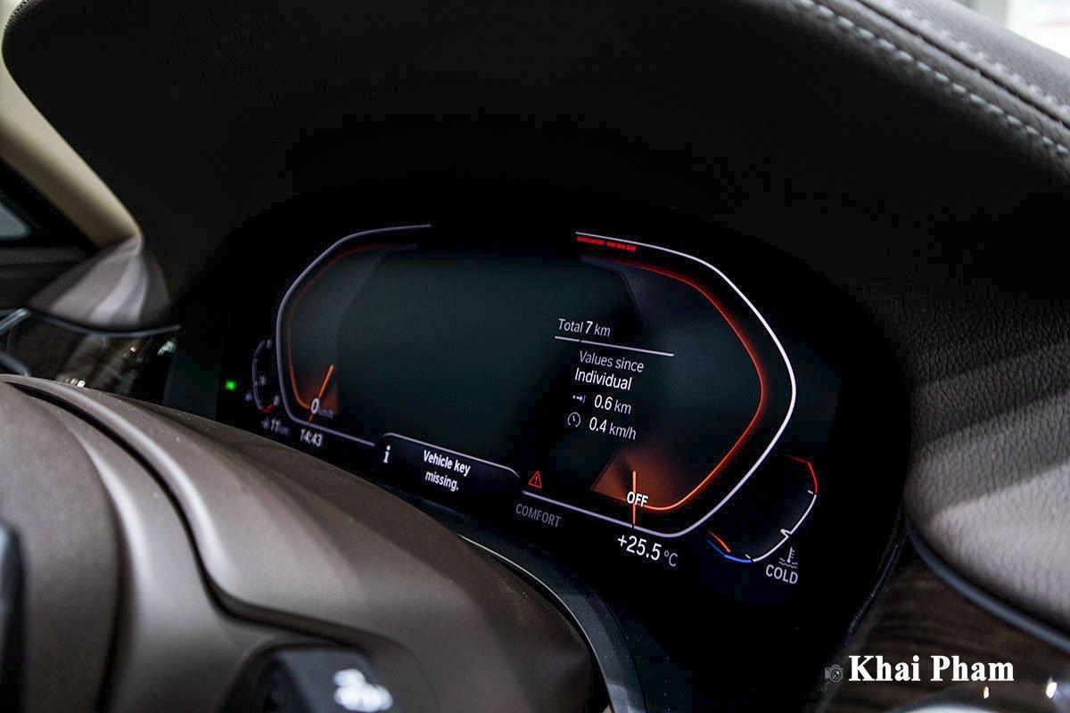 Ảnh Đồng hồ xe BMW 7-Series 2020