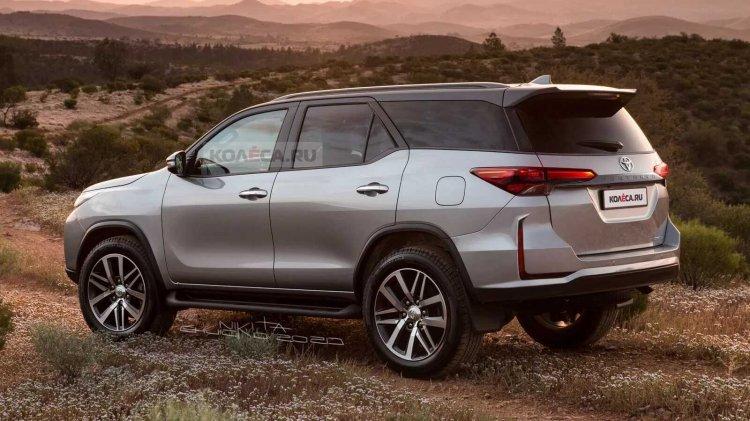 Toyota Fortuner nâng cấp mới sẽ chính thức ra mắt vào ngày 4/6 tới - Ảnh 1.