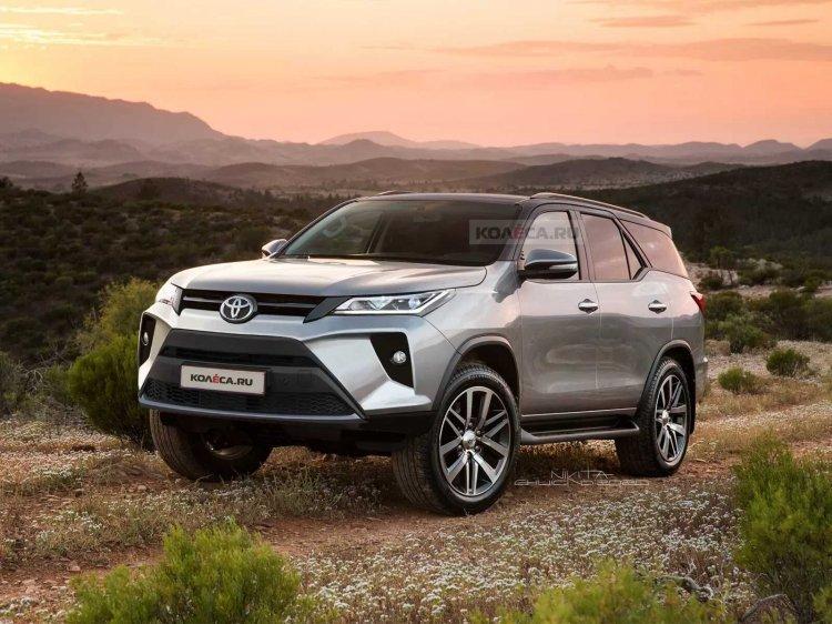 Toyota Fortuner nâng cấp mới sẽ chính thức ra mắt vào ngày 4/6 tới.