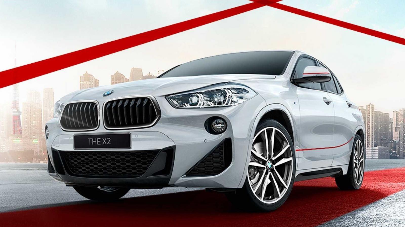 """BMW X2 thuộc bộ sưu tập """"Mặt trời mọc"""" 1"""