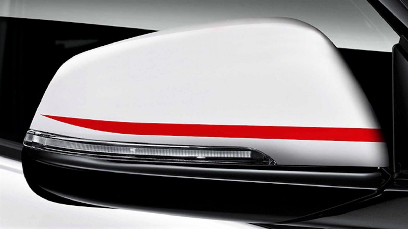 """Các chi tiết ngoại thất của BMW phiên bản """"Mặt trời mọc"""" a1"""