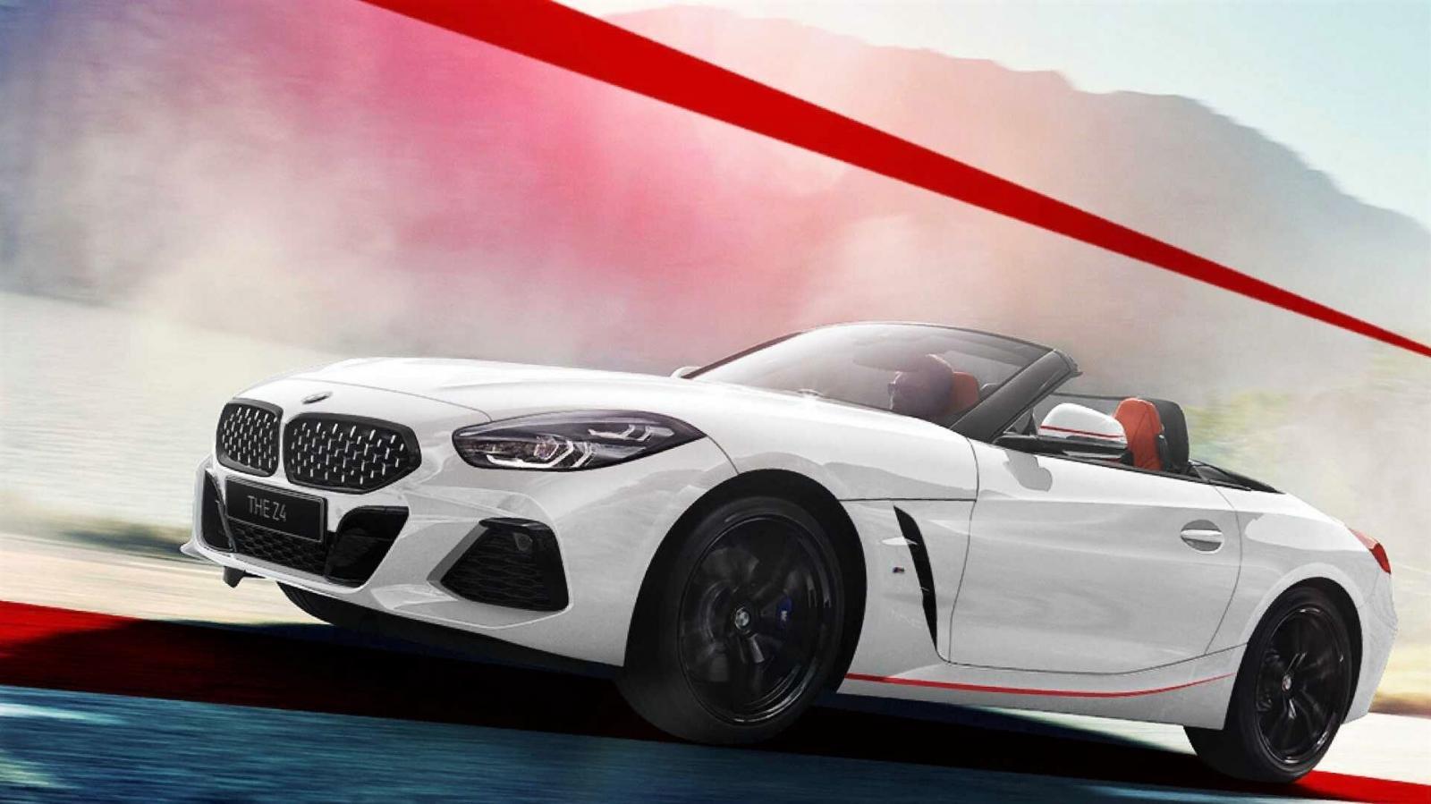 "BMW Z4 thuộc bộ sưu tập ""Mặt trời mọc"" 1"