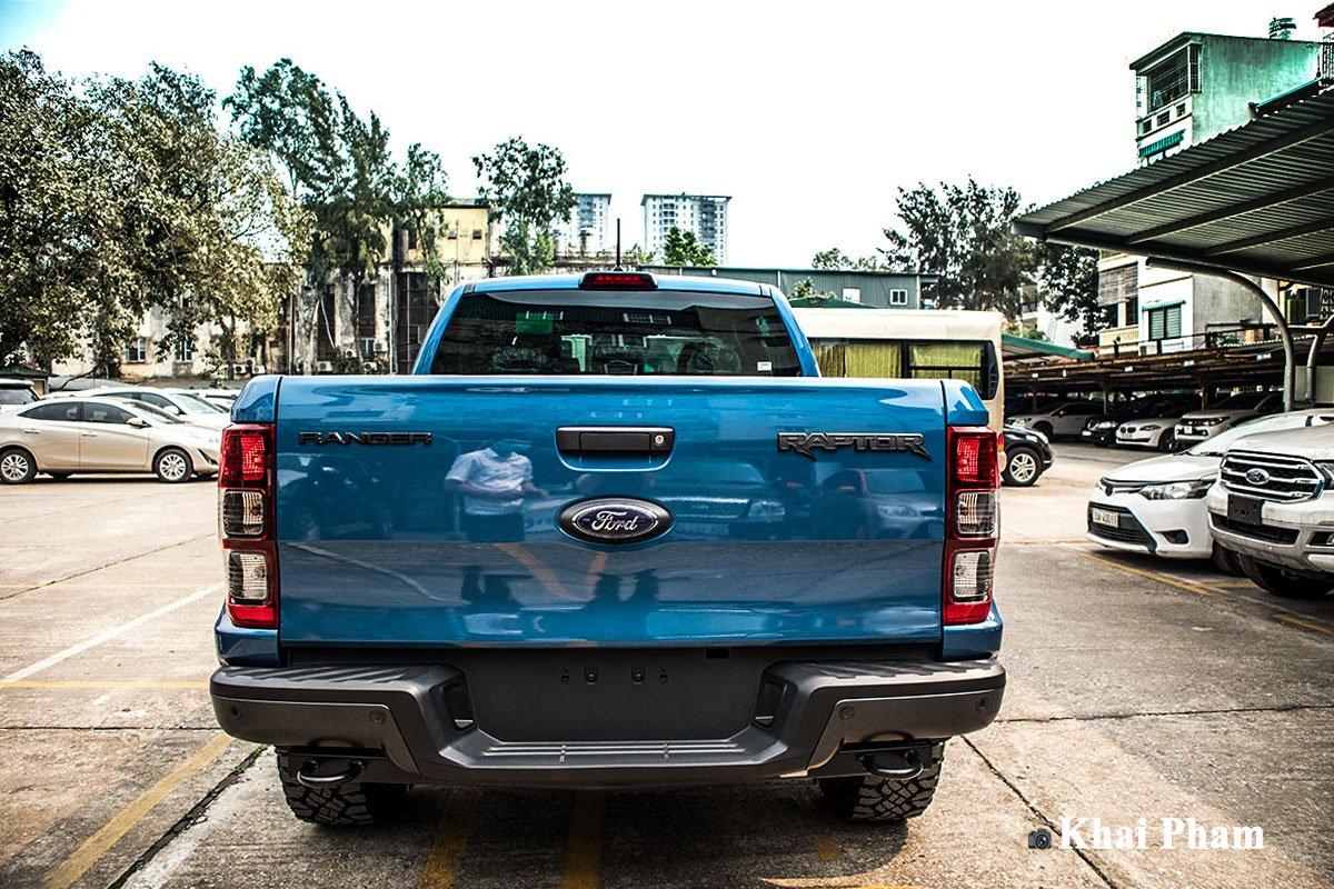 Ảnh Đuôi xe Ford Ranger Raptor 2020