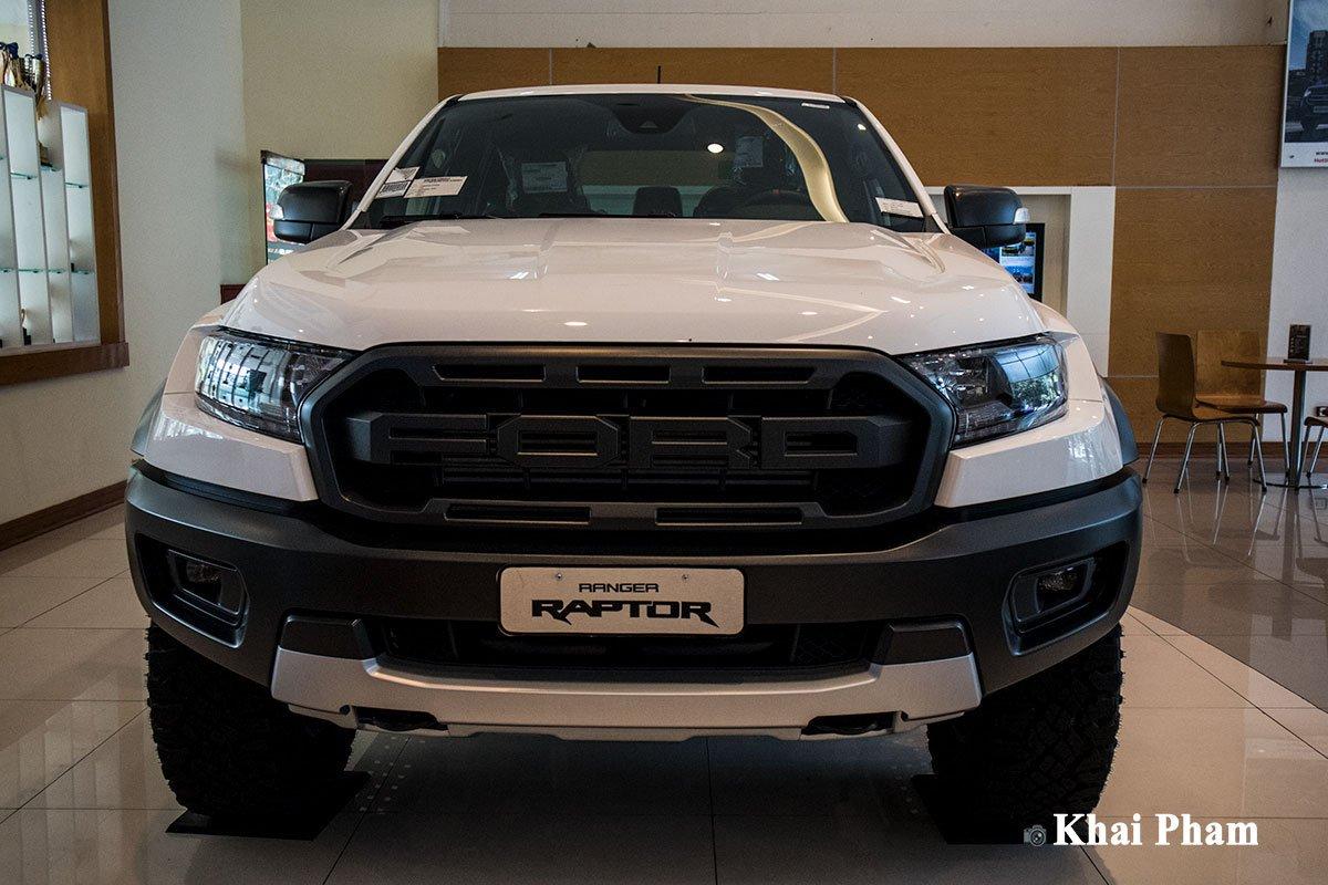 Ảnh Đầu xe Ford Ranger Raptor 2020