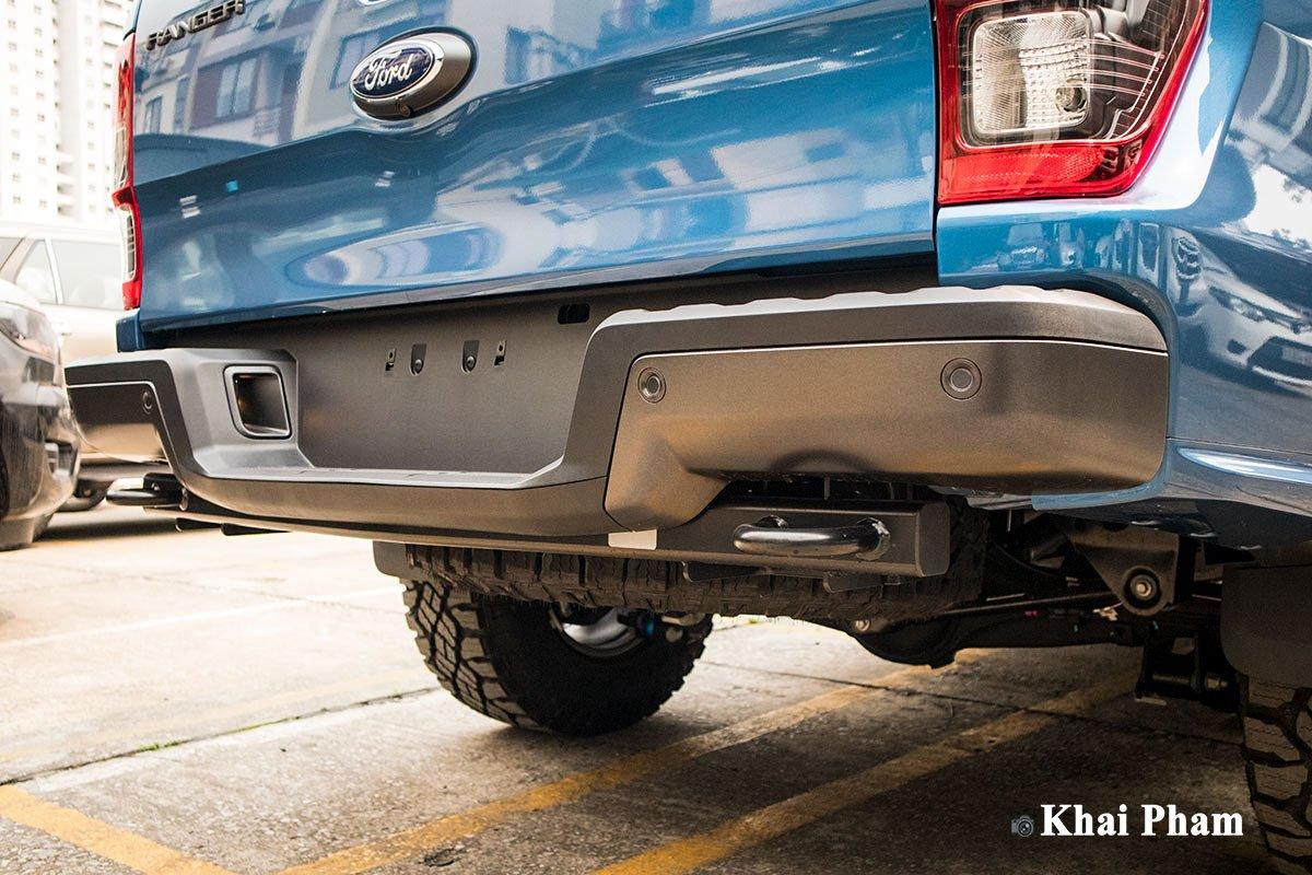 Ảnh Cản sau xe Ford Ranger Raptor 2020