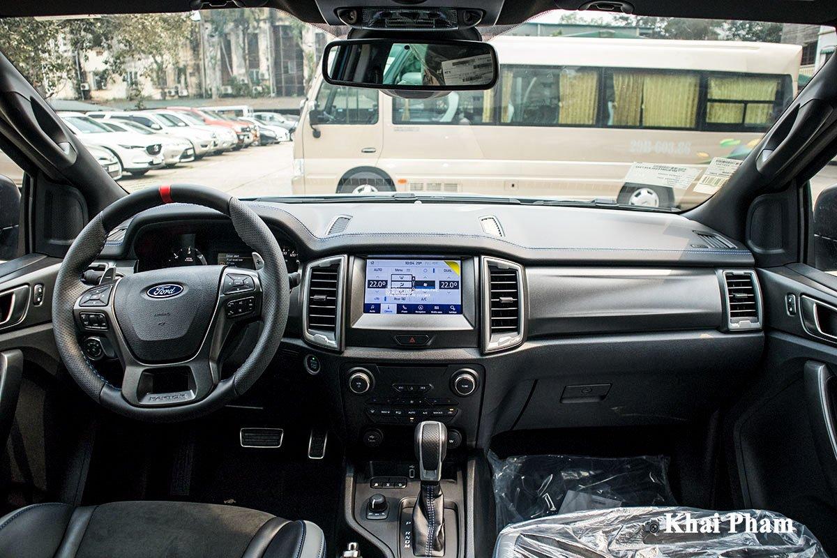 Ảnh Táp-lô xe Ford Ranger Raptor 2020