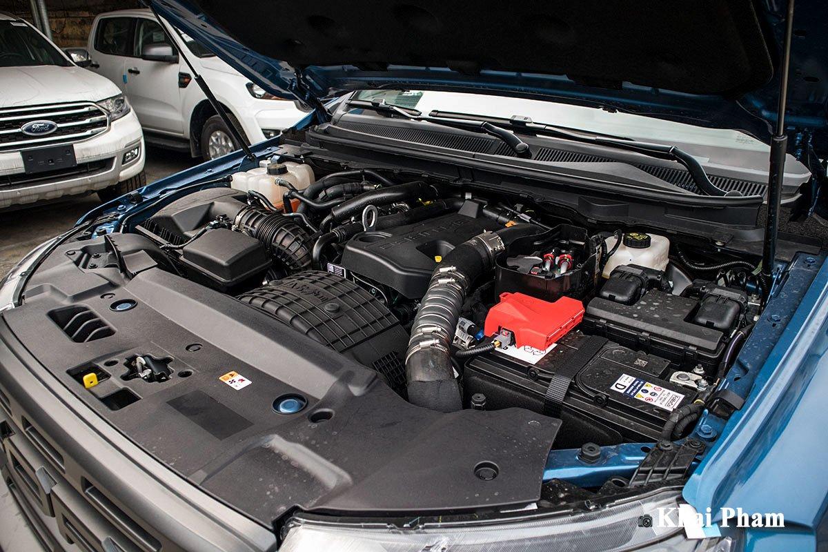 Ảnh Động cơ xe Ford Ranger Raptor 2020