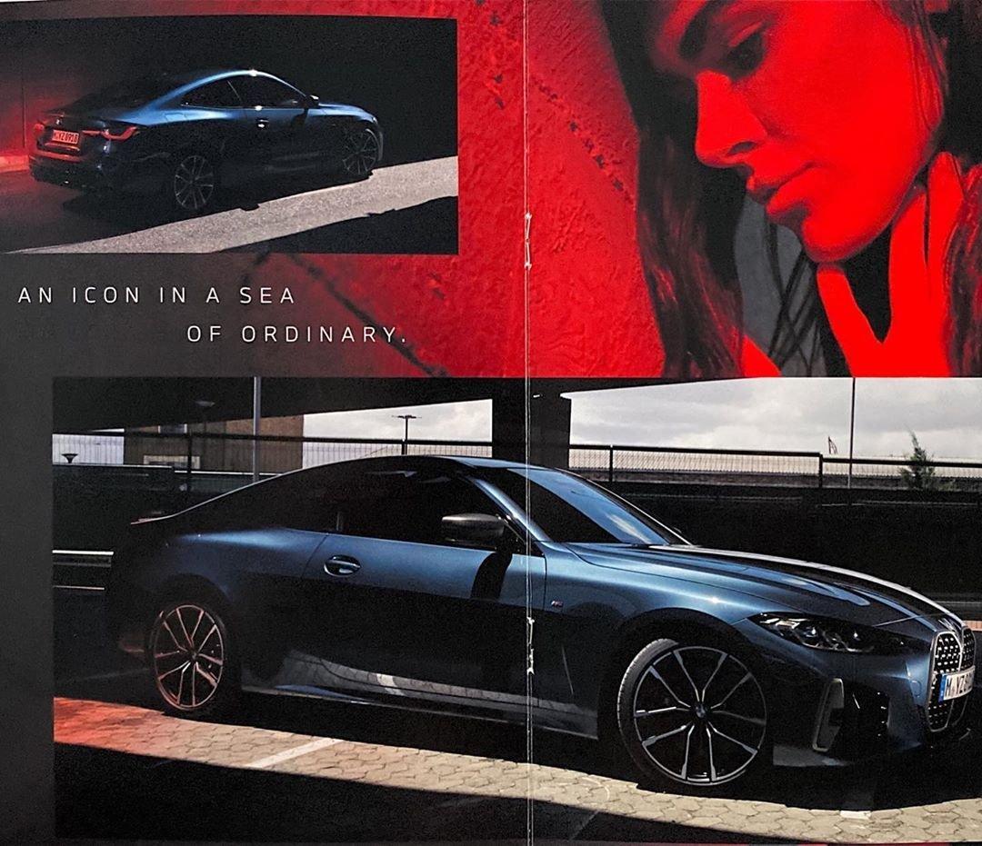 BMW 4-Series 2021 rò rỉ hình ảnh Brochure trước giờ G - Ảnh 2.