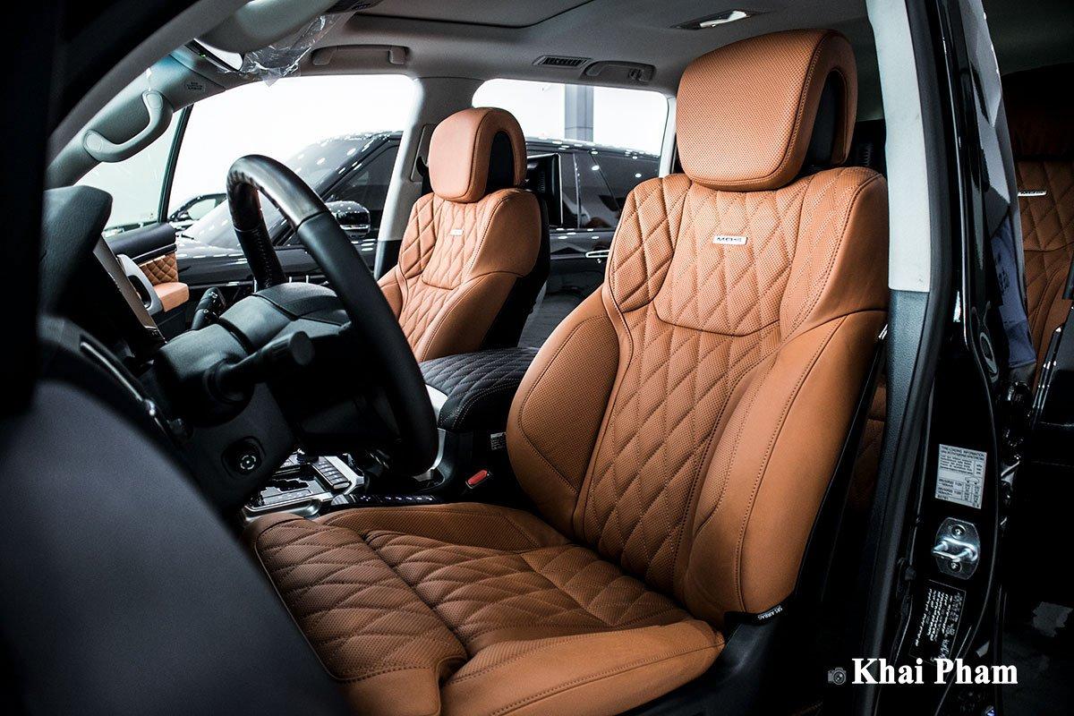 Ảnh ghế lái xe Toyota Land Cruiser 2020