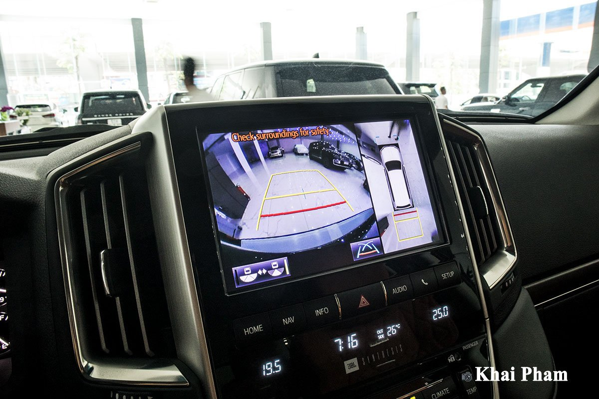 Ảnh camera xe Toyota Land Cruiser 2020