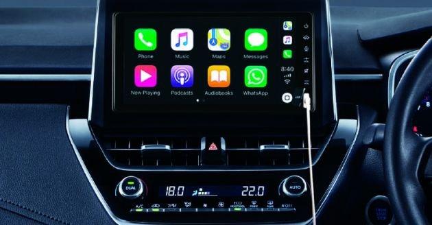 Màn hình 9 inch trên Toyota Corolla Altis 2020 mới...