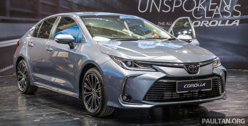 Toyota Corolla Altis 2020 vẫn dùng khối động cơ 1.8L ...