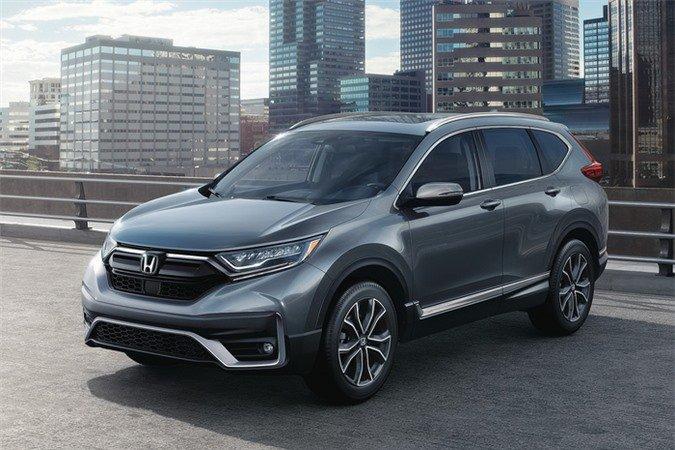 Honda CR-V 2020 lắp ráp trong nước lộ diện toàn bộ thiết kế và thông số.