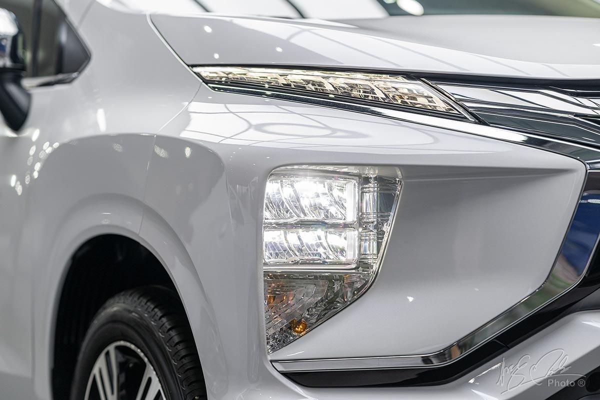 Cụm đèn pha LED dạng tầng trên Mitsubishi Xpander 2020.