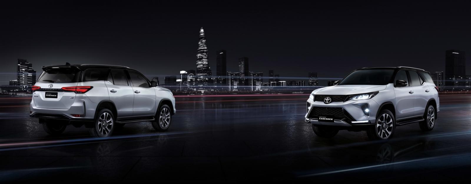 Toyota Fortuner 2021 facelift nâng cấp mới vừa đẹp vừa mạnh.