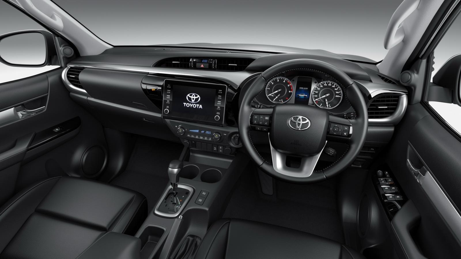 Toyota Hilux 2021 facelift nâng cấp trang bị.