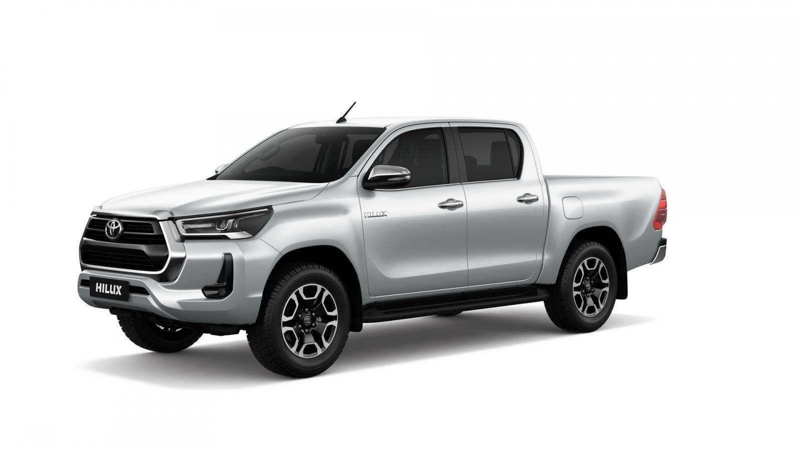Toyota Hilux 2021 facelift nâng cấp mới tấp nập công nghệ.