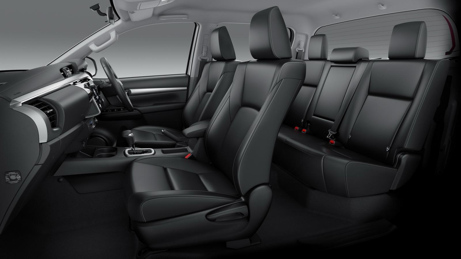 Toyota Hilux 2021 facelift đảm bảo mang đến trải nghiệm lái tuyệt vời hơn.