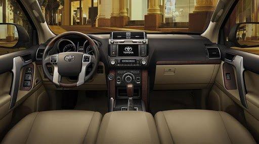 Nội thất Toyota Prado 2018