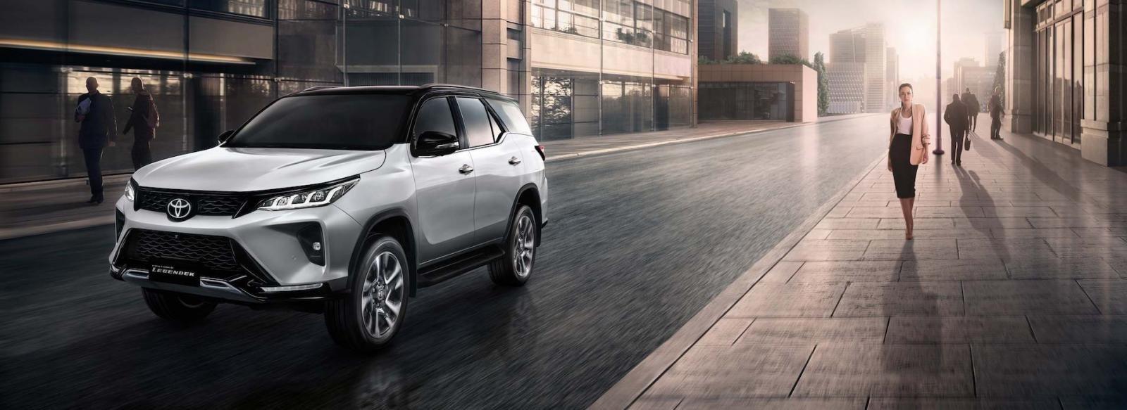 Toyota Fortuner Legender 2021có giá quy đổi từ 1,1 tỷ đồng tại Thái Lan..
