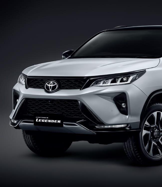Ảnh chi tiết Toyota Fortuner Legender 2021 hoàn toàn mới vừa mở bán tại Thái Lan a6