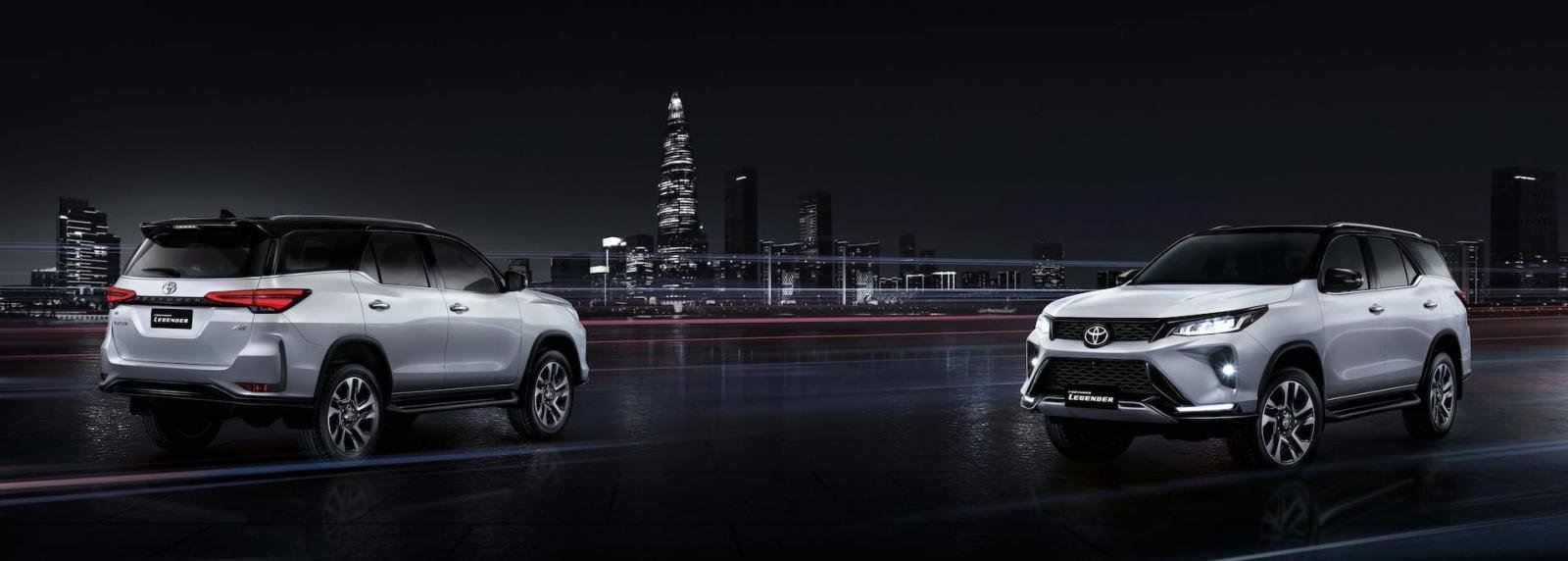 Ảnh chi tiết Toyota Fortuner Legender 2021 hoàn toàn mới vừa mở bán tại Thái Lan a24