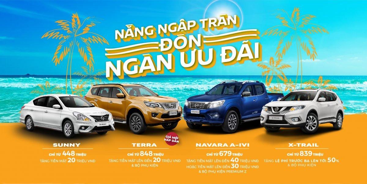 Nissan Việt Nam tung chương trình khuyến mãi tháng 6/2020.