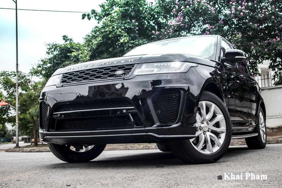 Ranger Rover Sport 2014 lên đời 2020 với gói ngoại thất SVR a1