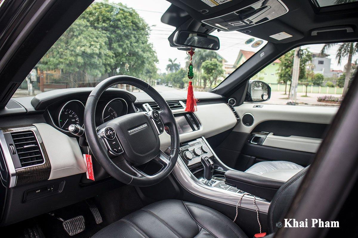 Ranger Rover Sport 2014 lên đời 2020 với gói ngoại thất SVR a19