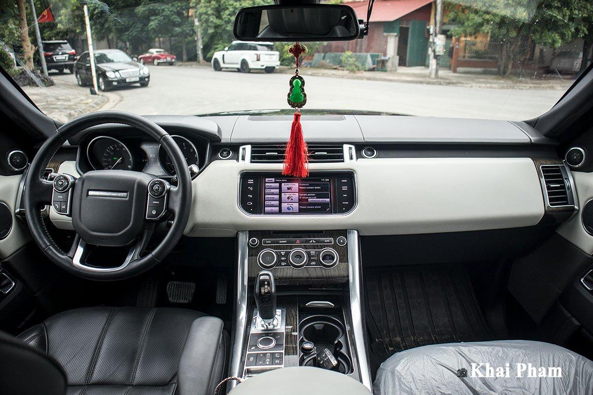 Ranger Rover Sport 2014 lên đời 2020 với gói ngoại thất SVR a18
