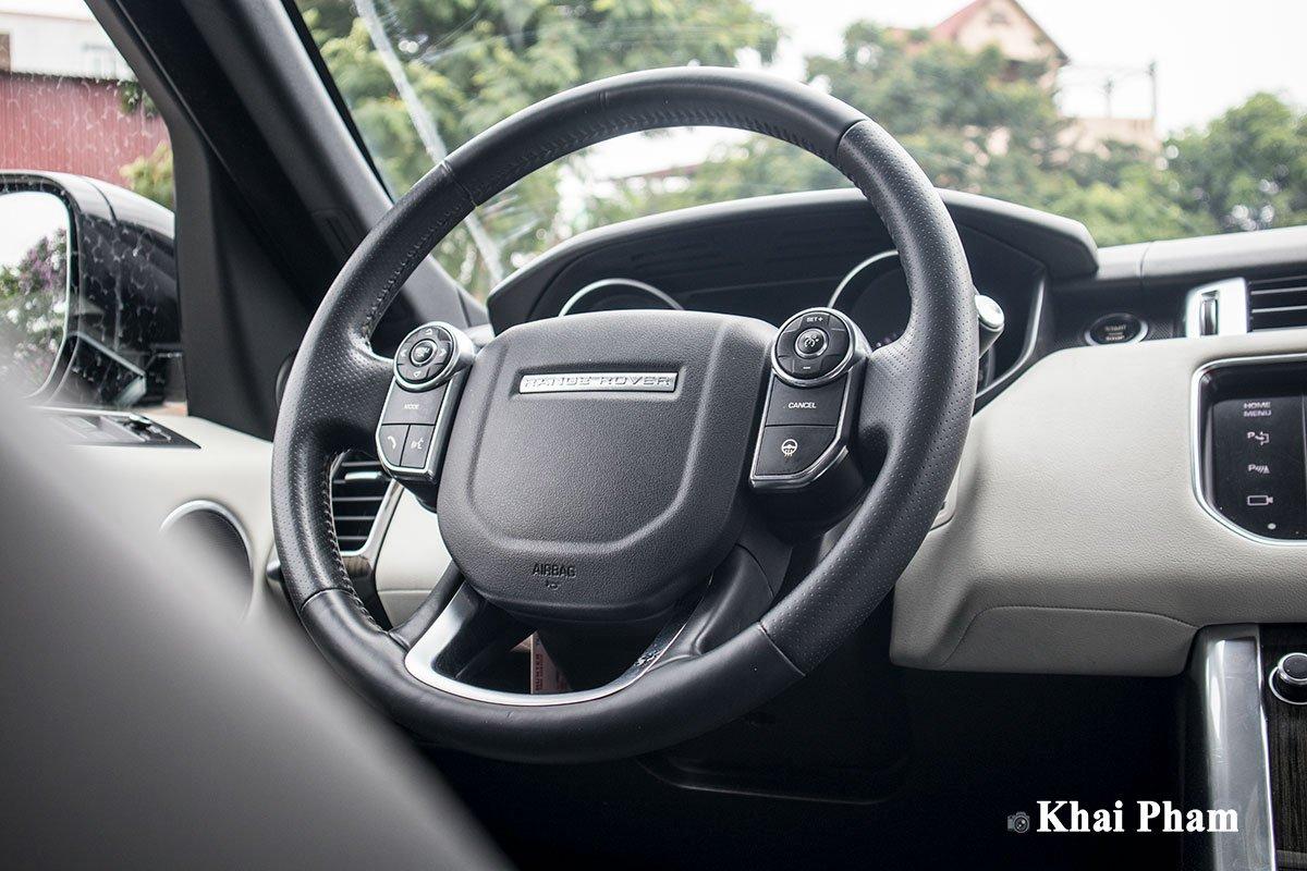 Ranger Rover Sport 2014 lên đời 2020 với gói ngoại thất SVR a25