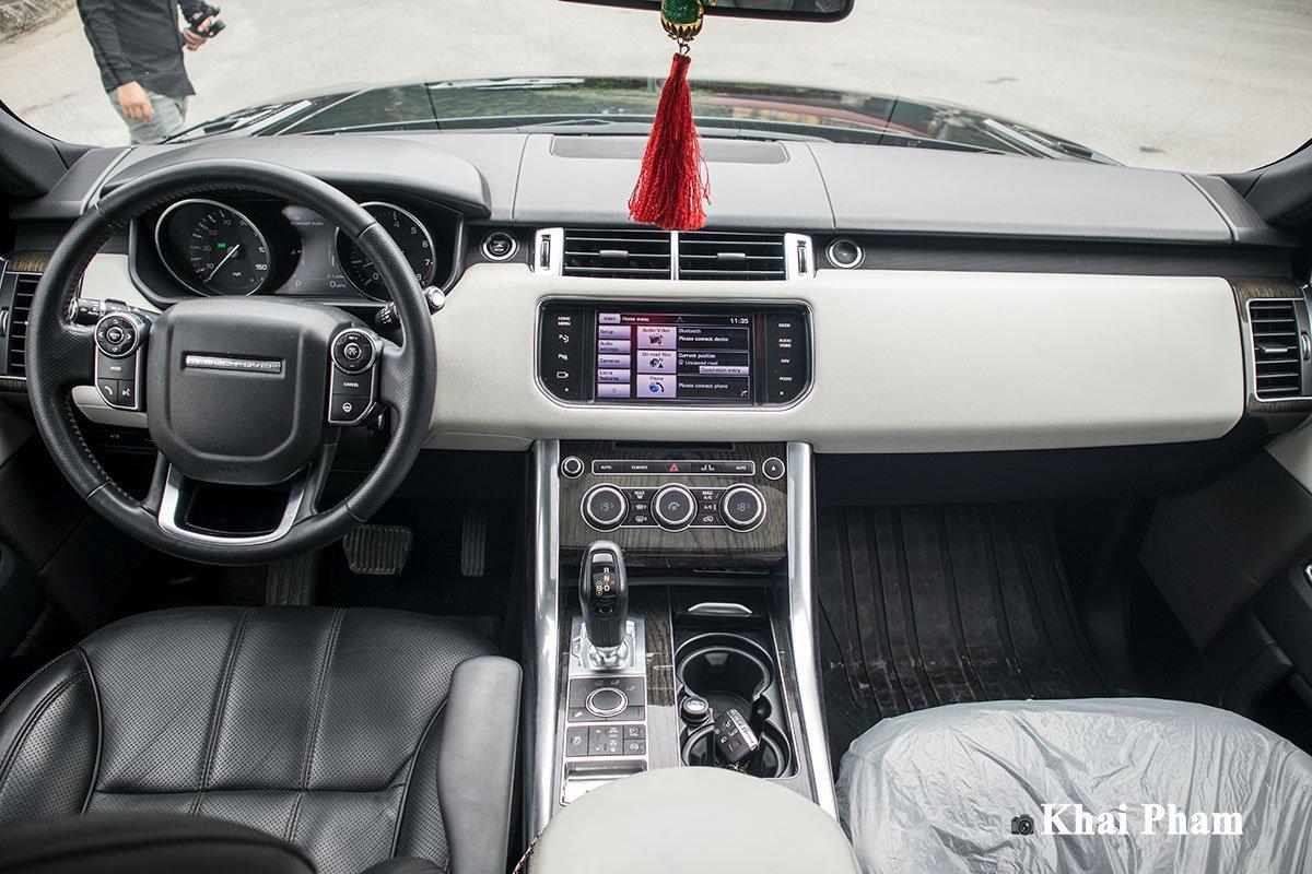 Ranger Rover Sport 2014 lên đời 2020 với gói ngoại thất SVR a6