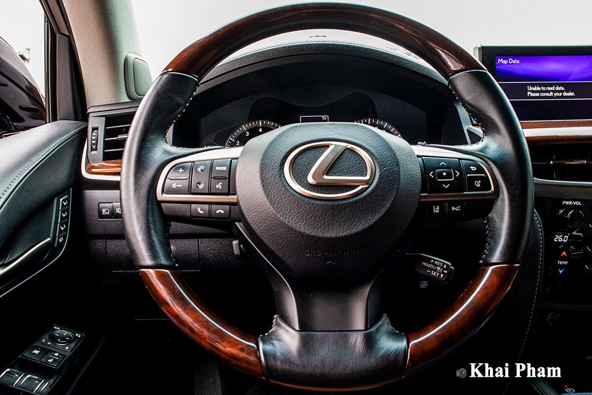 Ảnh Vô-lăng xe Lexus LX 570 Super Sport 2020