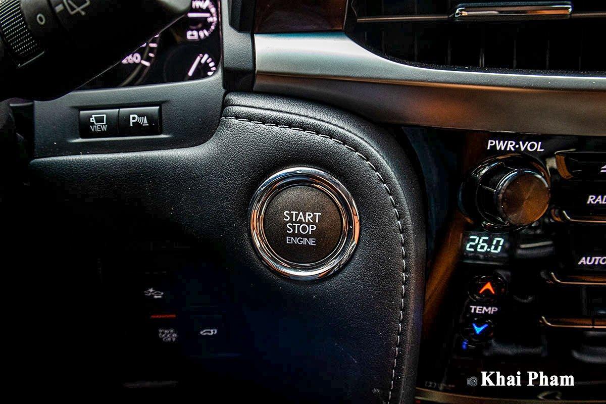 Ảnh Nút bấm khởi động xe Lexus LX 570 Super Sport 2020