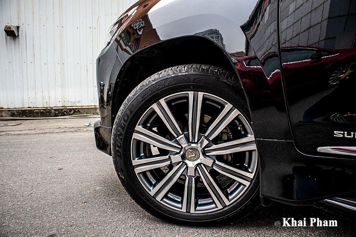 Ảnh La-zăng xe Lexus LX 570 Super Sport 2020