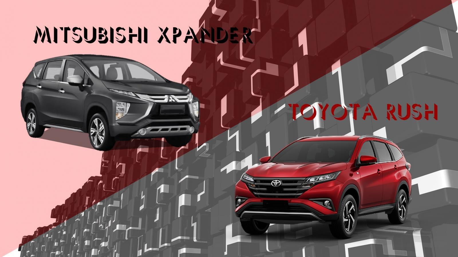 So sánh xe Mitsubishi Xpander 2020 và Toyota Rush 2020: Xpander tăng option, giá vẫn rẻ hơn Rush a1