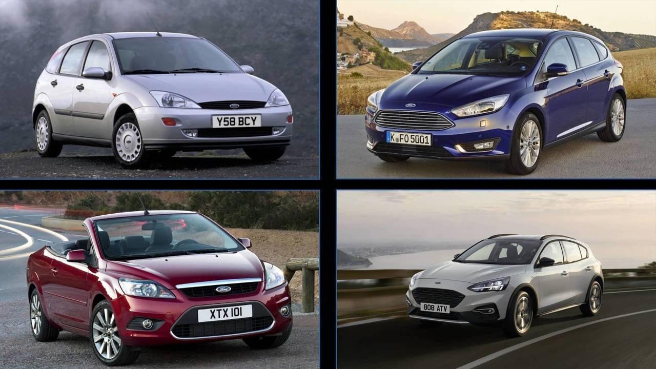 Các đời Ford Focus...